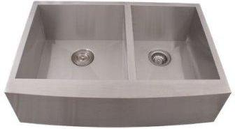 "33"" Stainless Steel Double Famer Sink"
