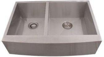 "36"" Stainless Steel Double Famer Sink"