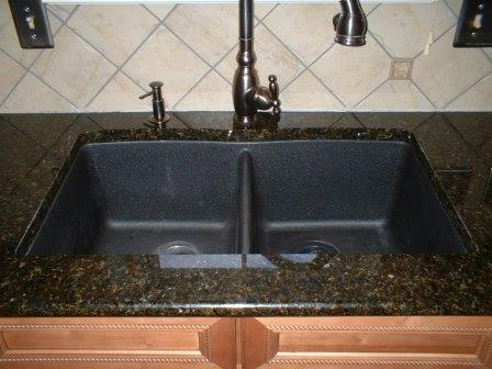SKBP216 Black Kitchen Sink