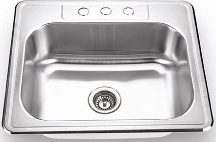 "21"" Topmount Single Sink"